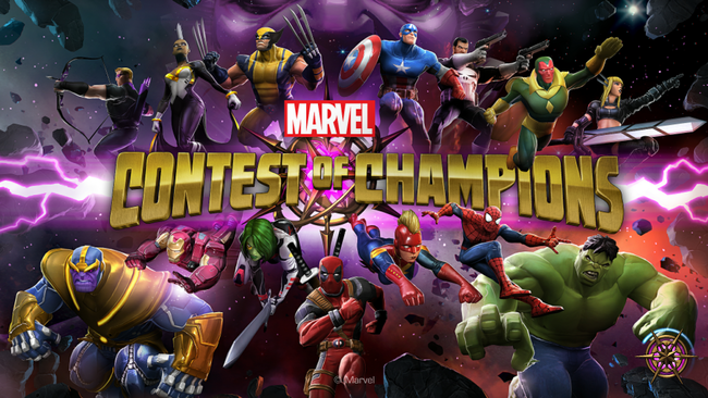 Logo De Marvel Contest Of Champions