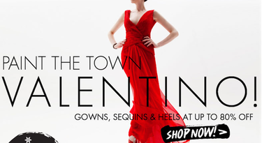Prendas de Valentino a muy buen precio en el outlet de moda