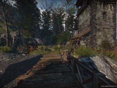 Un mod logra cambiar la cámara de The Witcher 3 a primera persona