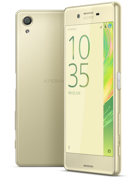 Xperia X Gold Group Png