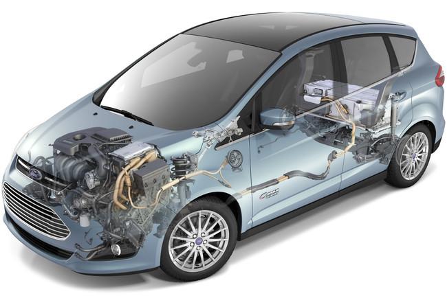 Ford EV+ en Ford CMAX Energi