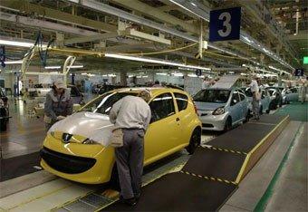La fábrica checa de Toyota y PSA producirá 100.000 coches