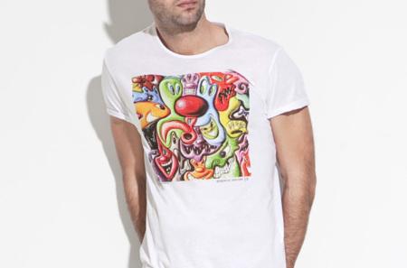 Camisetas Kenny Scharf en Zara