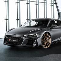 Audi R8 V10 Decennium: el 'regalo' de aniversario para celebrar los diez años del R8 con el motor V10