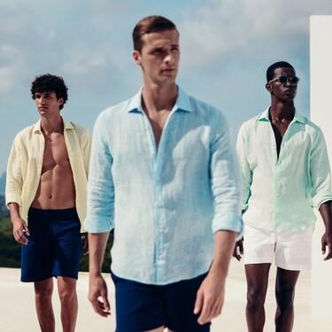 Las camisas más fresquitas de lino que son tendencia y que encontramos en El Corte Inglés