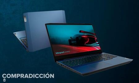 Un portátil gaming económico como el Lenovo IdeaPad Gaming 3 15ARH05 ahora sólo cuesta 699 euros en Amazon