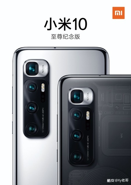 Xiaomi Mi 10 Ultra Tapa Trasera Transparente
