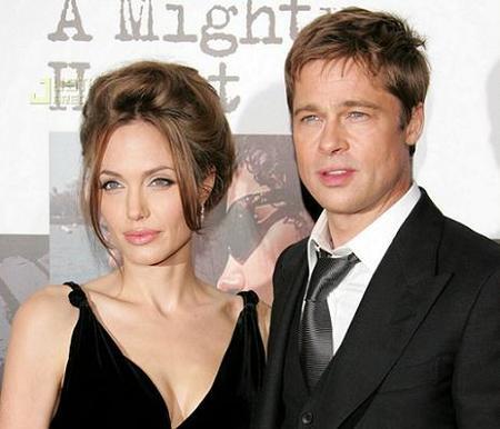 Brad, mosqueado con Angelina