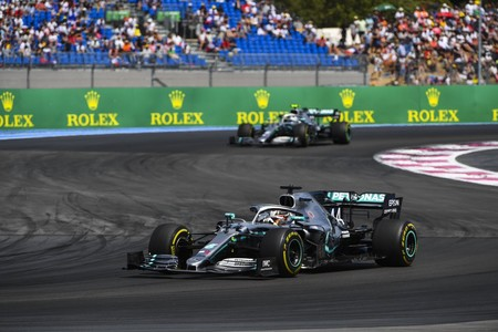 Hamilton Bottas Francia F1 2019