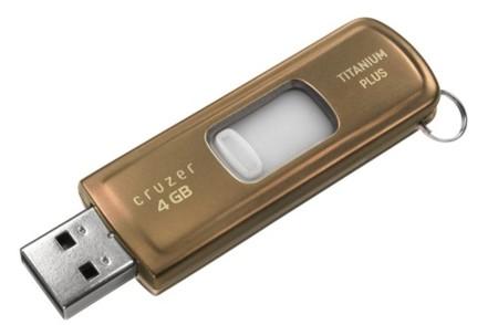 SanDisk Cruzer Titanium Plus, datos seguros ante todo