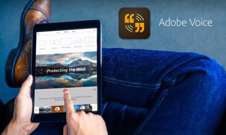 Adobe Voice para iPad, cuenta tu historia