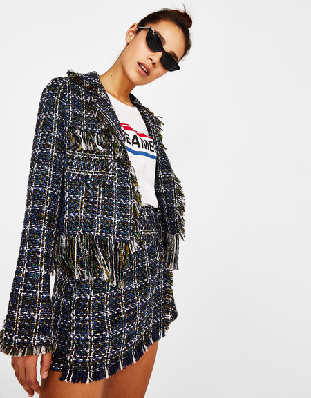 bershka tweed