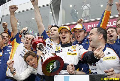 Heikki Kovalainen consigue su primer podium