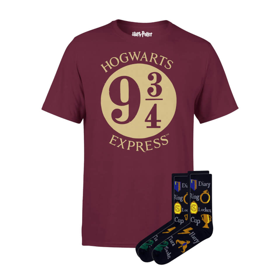 Pack Harry Potter camiseta y calcetines