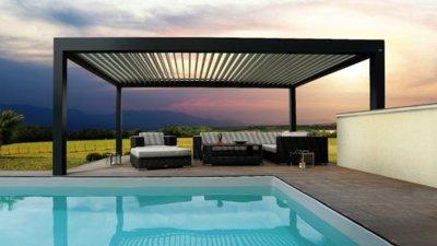 Pérgolas bioclimáticas, un complemento ideal para proteger espacios exteriores