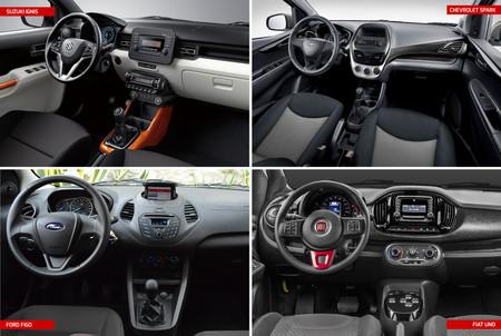Ford Figo Vs Suzuki Ignis Vs Chevrolet Spark Vs Fiat Uno 2