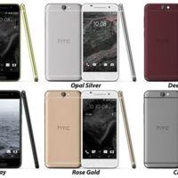 Ya tenemos foto de familia, así luce el HTC One A9 con toda su gama de colores