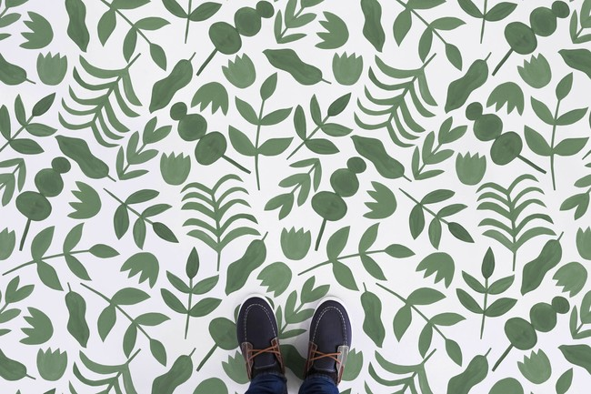 Web Green Feet