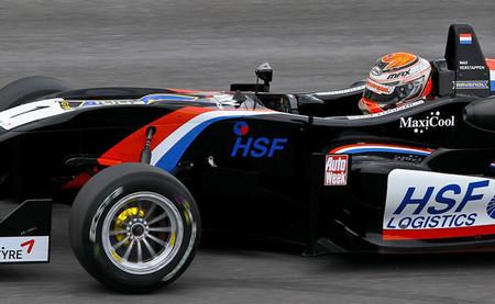 Max Verstappen emula a su padre imponiéndose en el Masters of Formula 3 de Zandvoort