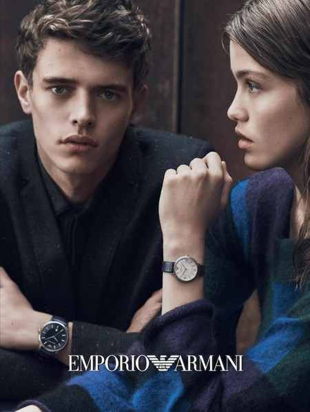 Jordy Baan Emporio Armani Watches Fall Winter 2016 Campaign 001