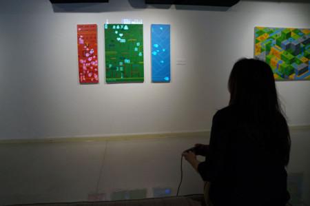 El videojuego se pasa al lienzo con for(){} para mostrarnos su faceta más artística