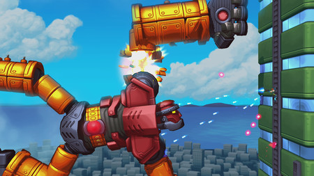 Los creadores de Gunman Clive anuncian Mechstermination Force, un run and gun contra gigantescos jefes finales robóticos