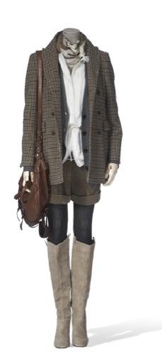 Vestidos de fiesta de Massimo Dutti, botas
