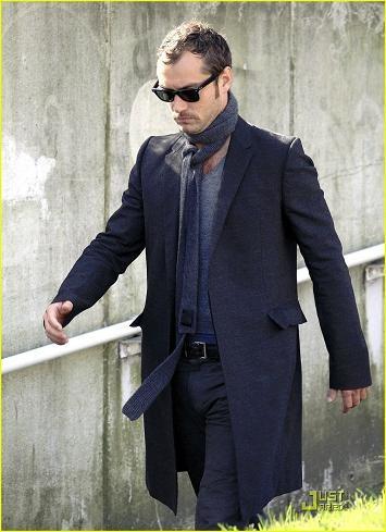 El perfecto look de gentleman de Jude Law