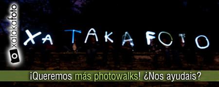 ¡Queremos más photowalks! ¿Nos ayudáis?