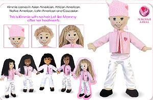 Muñecas para explicar el cáncer