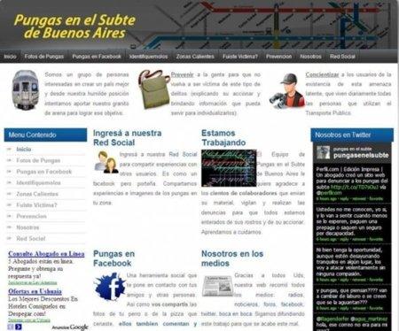 Éxito de la web para 'cazar' delincuentes en el Metro de Buenos Aires