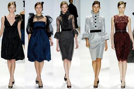 Monique Lhuillier en la Olympus Fashion Week