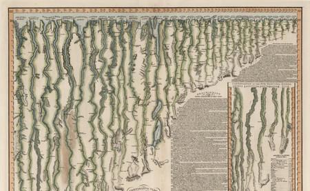 La longitud de los ríos más largos del planeta, comparada en esta fantástica ilustración de 1817