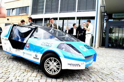 Solartaxi, el vehículo solar que dará la vuelta al mundo