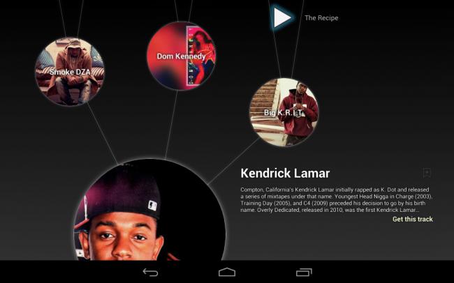 Google Music Explorer