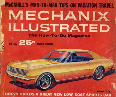 Las primeras recreaciones del Chevrolet Camaro