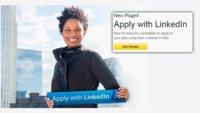 LinkedIn añade un botón para solicitar trabajo