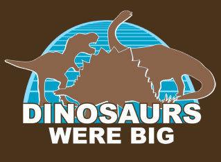 Camiseta de dinosaurios en NerdyShirts