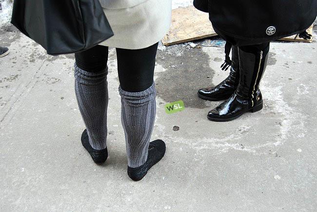 Foto de Streetstyle en los desfiles de la Semana de la Moda de Nueva York: una semana de imágenes (73/82)