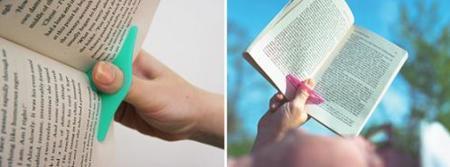 Thumb Thing, accesorio para la lectura