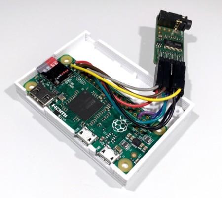 La Raspberry Pi Zero permite hacer dispositivos HiFi en un espacio mínimo