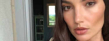 Alucinamos con el cambio (temporal) de look de Lily Aldridge, apostando por el rubio y el corte de pelo del momento