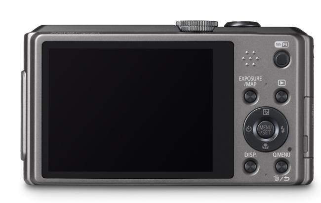 Panasonic TZ40 pantalla