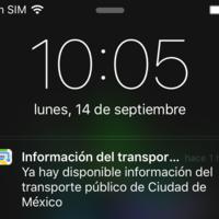 La información del trasporte público del D.F. llega a Apple Maps, todo listo para iOS 9