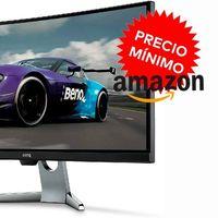 200 euros de rebaja y precio mínimo en Amazon: el monitor gaming curvo de gama alta BenQ EX3501R por 499,99 euros es todo un chollo