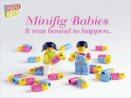 Las minifiguras de Lego han tenido bebés