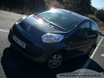 Tricomparativa: Chevrolet Matiz, Citroën C1 y Renault Twingo (parte 2)