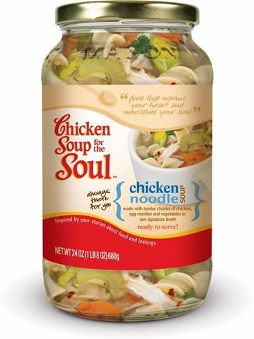 'Sopa de pollo para el alma'... ¡y va en serio!