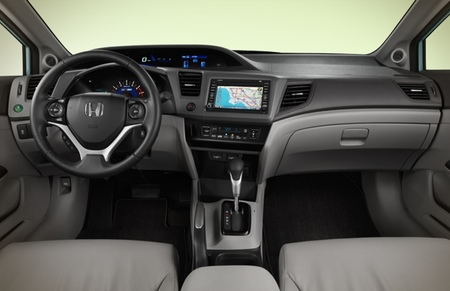 Honda Civic Hybrid 2012 02