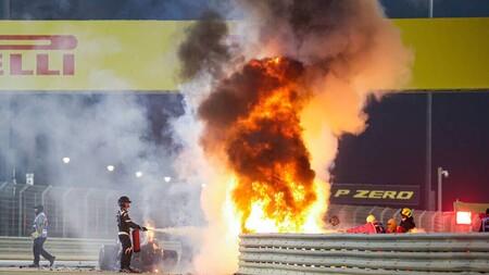 Grosjean Barein F1 2020
